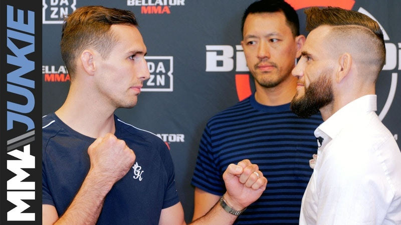 Bellator 220 Main card fighters face off during media day in San Jose