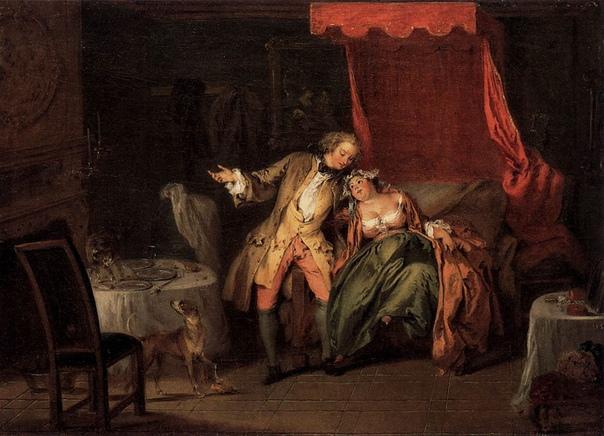 ЕВРОПЕЙСКАЯ ОХОТА НА БЛОХ На протяжении веков европейцы не могли избавиться от блох. Тем не менее, эти кровососущие паразиты породили жанр специфической эротичной картины на сюжет блошиной