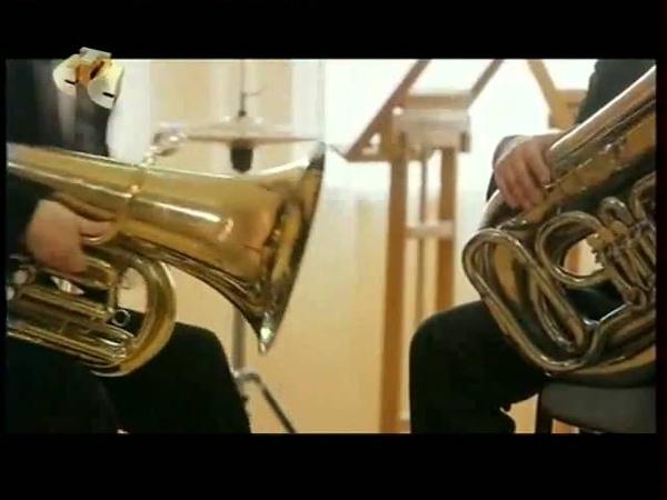 Стеклодув против тубиста (Glass-blower against the tuba player)