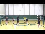 Oregon Ducks Volleyball Ball Control Routine