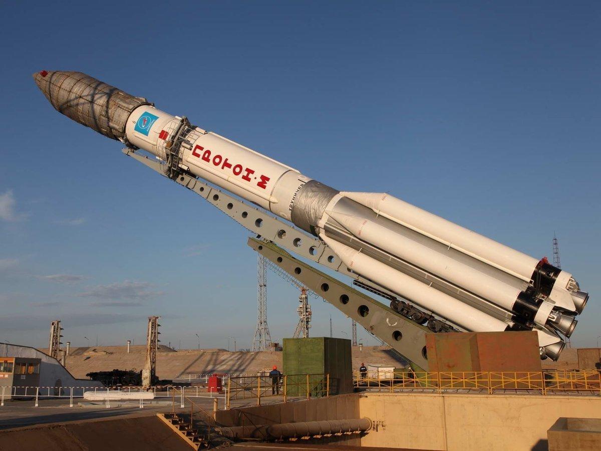 Роскосмос перенес запуск ракеты Протон-М из-за неисправностей а не погодных условий