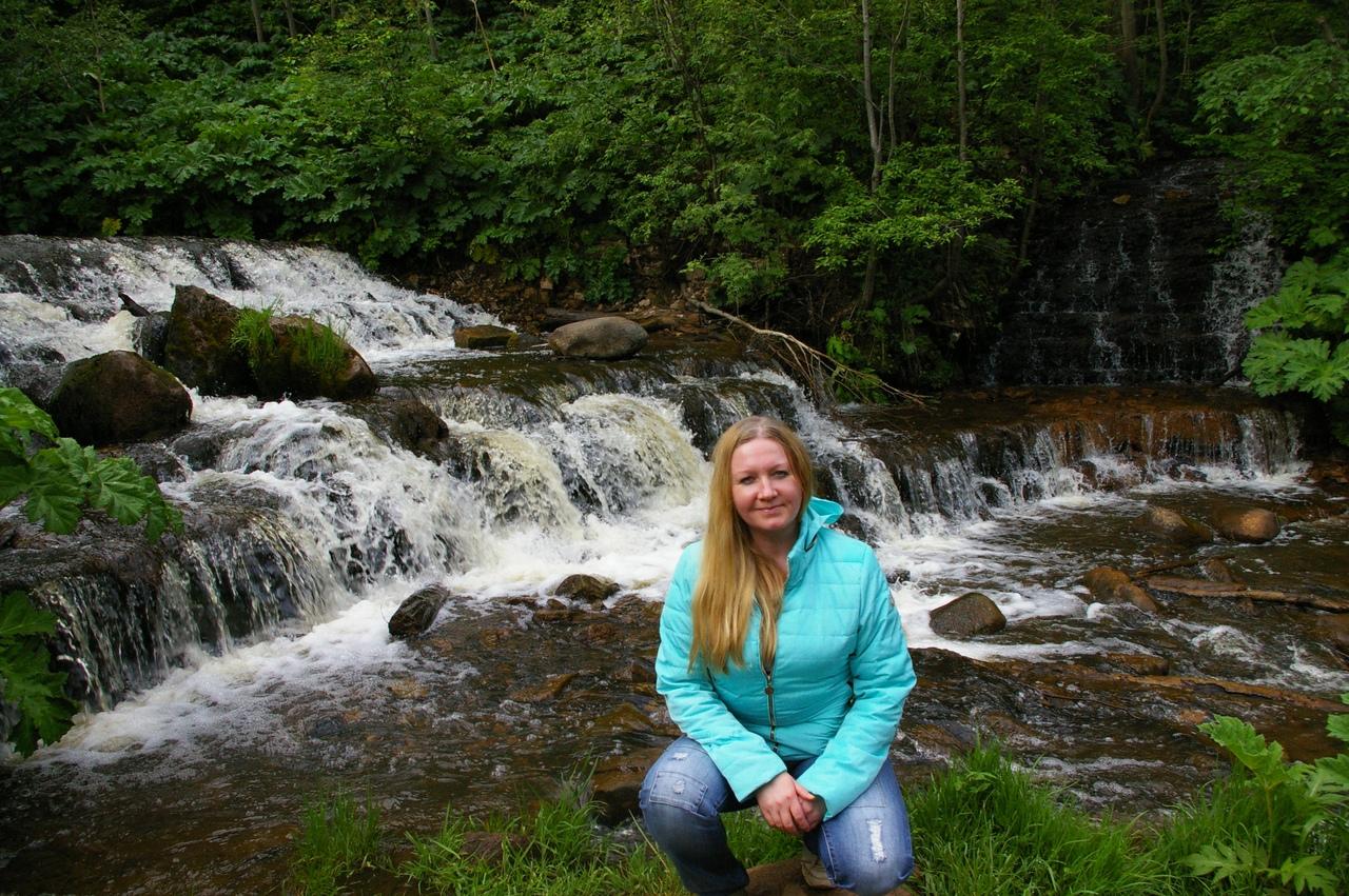 На восток Новгородской области. Водопад на Чалпе вблизи города Боровичи.