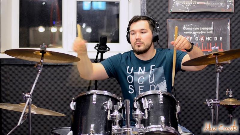 Денис Казаков - When September Ends (Green Day Drum Cover)