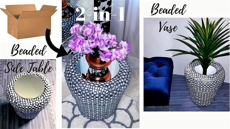 HOW TO TURN BOXES AND CAR SEATS INTO SIDE TABLES VASES EASY DIY IDEAS 2019