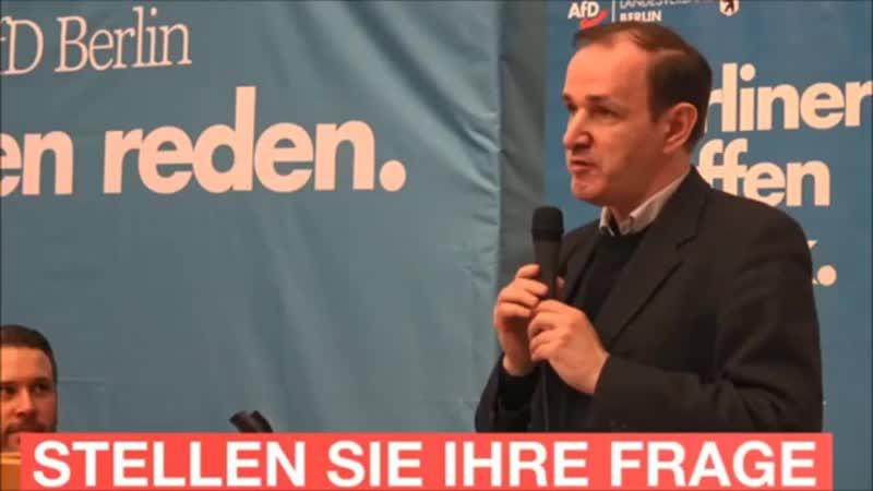 Rede beim Bürgerdialog in Steglitz-Zehlendorf _ Dr. Gottfried Curio