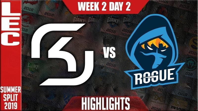 SK vs RGE Highlights LEC Mùa hè 2019 SK Gaming vs Rogue Highlights LEC Summer 2019 Week 2 Day 2