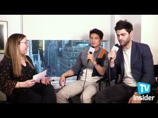 Harry Shum Jr & Matthew Daddario on What's Next for Malec | TV Insider