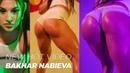 BAKHAR NABIEVA NEW HOT BRIGHT VIDEO 2019 ONLY BAKHAR Azerbaijan fitness model with awesome legs