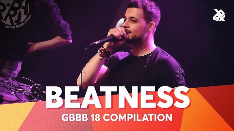 BEATNESS   Grand Beatbox Battle Champion 2018 Compilation