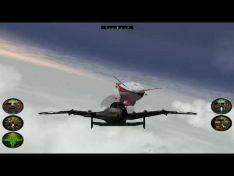 Crimson Skies Playthrough PC Mission 6 HARDEST mode The Red Menace