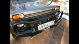 Установка лебедки и силовых бамперов РИФ на Ниву/Lada 4x4