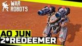 Ao Jun 2Redeemer Сносит всё! War Robots