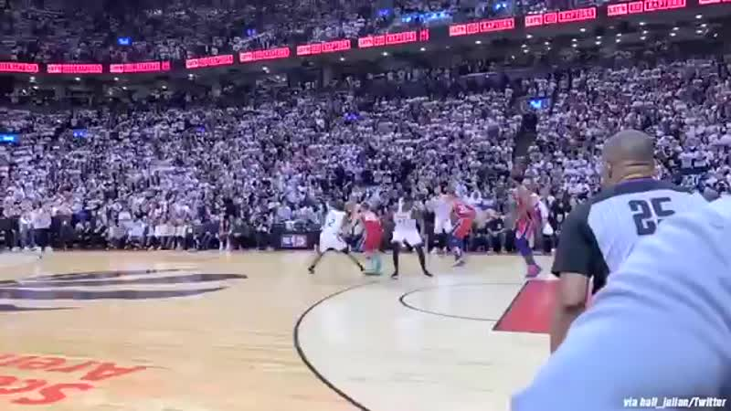 Must See Courtside Angle of Kawhi's Epic Game Winner!.mp4