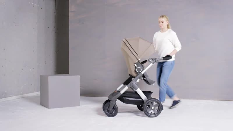 Детская коляска внедорожник Stokke® Trailz™ - The versatile All Terrain stroller (OFFICIAL DEMO)