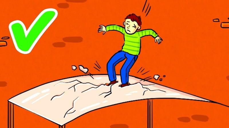 Как Выжить Если Вы Падаете с Огромной Высоты и Кажется что Шансов Нет