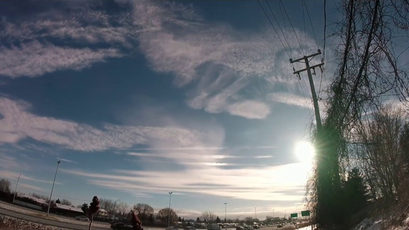 2018 Ultra Timelapse Clouds Seeding Artificial Cumulus Clouds Suppression Recombination Rainbow