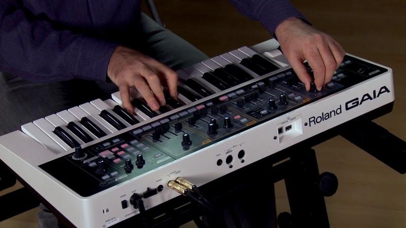 Roland GAIA SH-01 Virtual Analog Synthesizer Performance