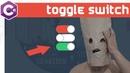 C Урок - Toggle Switch. Создание User Control