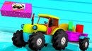 Traktori lelu Unboxing lapsille lelu maatalouden ajoneuvot Tractor Unboxing Kids Video
