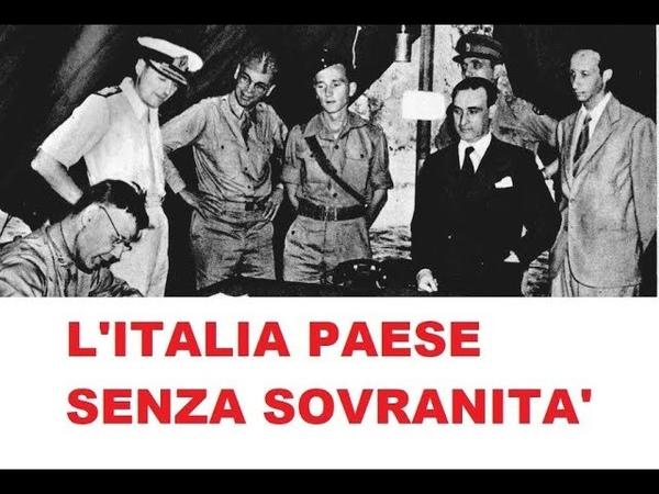 Italia la farsa delle votazioni. Dopo Cassibile decidono inglesi e americani