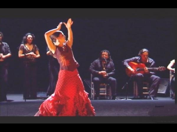 La bailaora Patricia Guerrero por tangos | Flamenco en Canal Sur