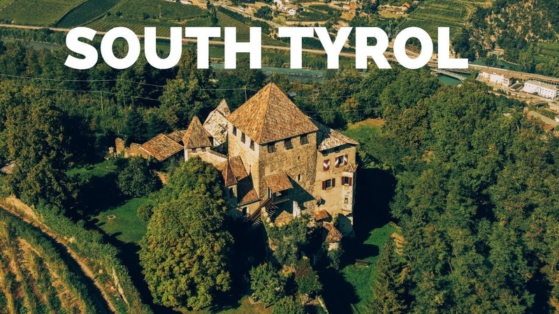 South Tyrol, Italy by drone 4k - DJI Mavic 2 Zoom footage