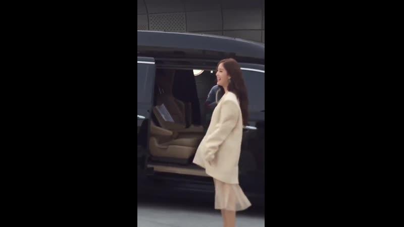 190321 Hyomin - 2019 Seoul Fashion Week - YCH