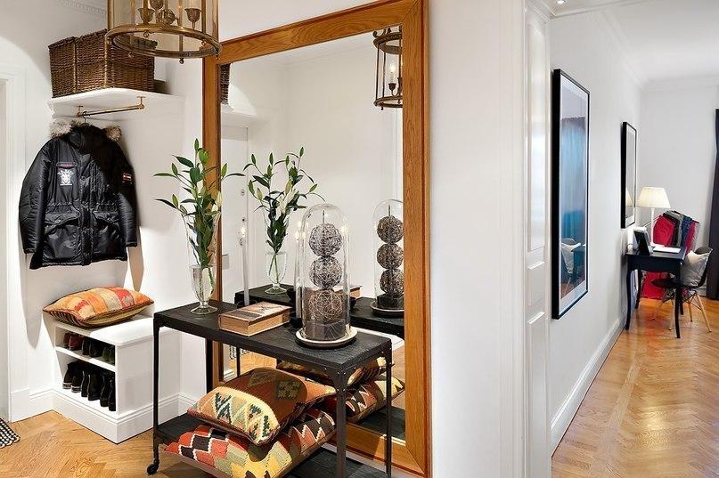 Ретро интерьер в небольшой квартире 55 кв.