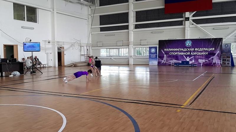 24 пара Арутюнян,Косматенко ЯНТАРНЫЕ ЛАСТОЧКИ 08.06.2019
