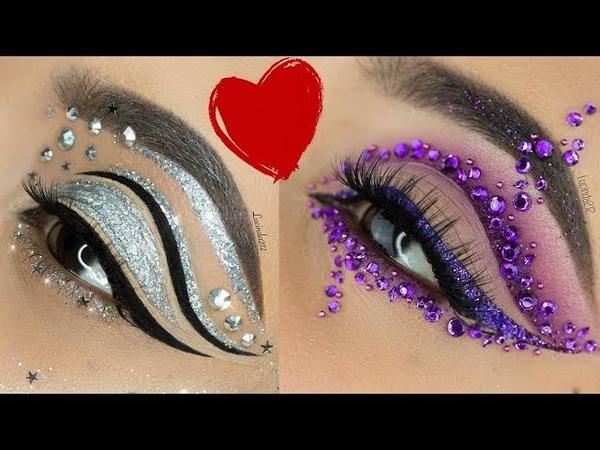 Amazing Cat Eye makeup with eyeliner styles collection 2017 by @mrs akaeva