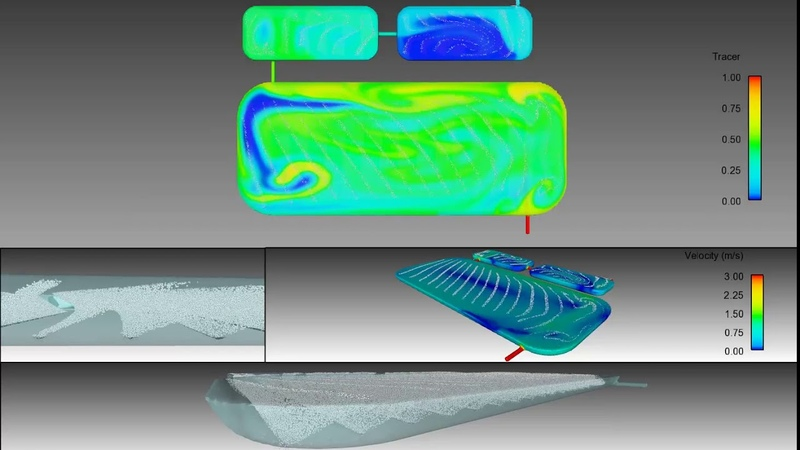 Aerated Lagoon Simulation FLOW 3D