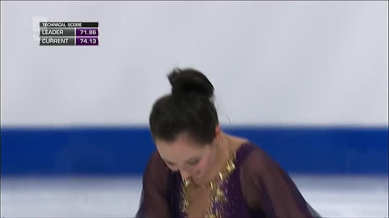 Елизавета Туктамышева - произвольная программа. Чемпионат Европы 2015