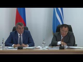 Заседание Совета Межрегиональной ассоциации экономического взаимодействия субъектов РФ Сибирское соглашение