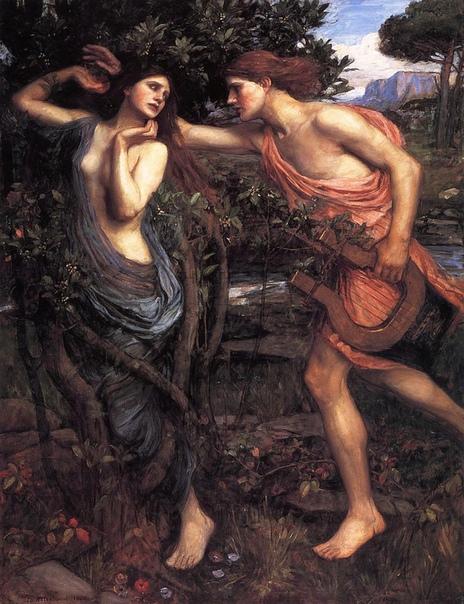 Дафна Древнегреческая мифология богата на любопытных персонажей. Помимо богов и их отпрысков, легенды описывают судьбы простых смертных и тех, чья жизнь оказалась связана с божественными