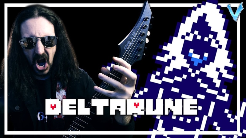 DELTARUNE - Rouxls Kaard Theme [EPIC METAL COVER] (Little V)