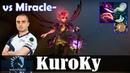 KuroKy - Dark Willow Offlane | vs Miracle (Phantom Assassin) | Dota 2 Pro MMR Gameplay