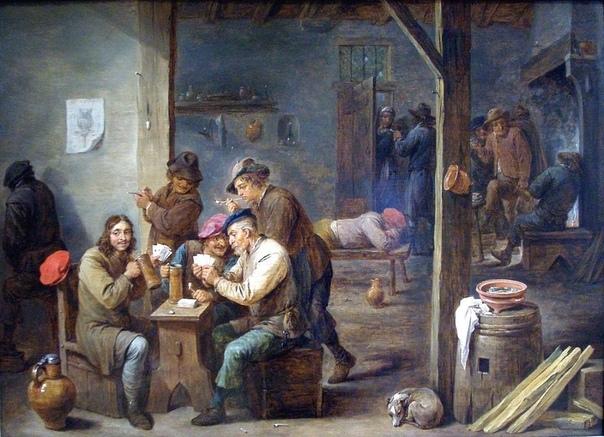 В Средние века люди пили очень много