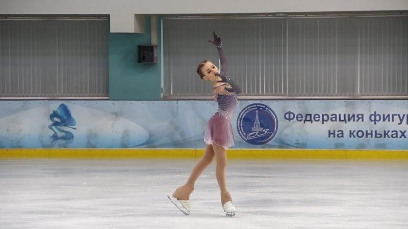 Дарья Усачёва, КП (Daria Usacheva, SP), Первенство Москвы старшего возраста 2019