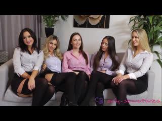 British girls laura h ,gina b ,natasha anastasia ,candice ,harper erotica stockings panties sex  orgy casting
