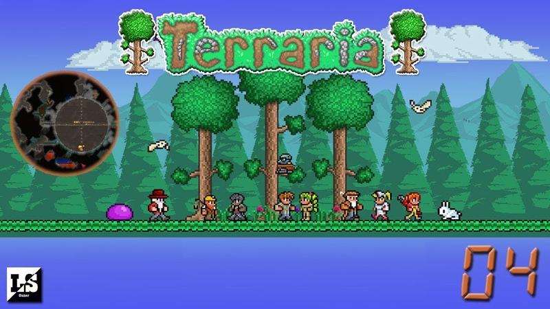 Terraria - 04 Раскопки подземной базы