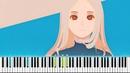 「雨とカプチーノ」 ヨルシカ Rain with Cappuccino Yorushika Synthesia Piano Tutorial ピアノ