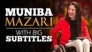 LEARN ENGLISH MUNIBA MAZARI We all are Perfectly Imperfect English Subtitles
