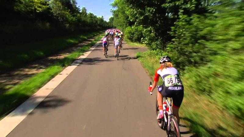 Европейский летний юношеский олимпийский фестиваль 2013 Велоспорт Женщины Гонка с общего старта