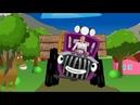 Веселая детская песенка Трактор едет к нам Учим названия животных с Вероникой