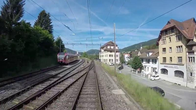 Wonderful Cab View Train Switzerland Train Driver's View