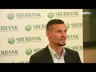 Dejan lovren je postao brand ambasador sberbank u hrvatskoj