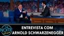 Entrevista com Arnold Schwarzenegger   The Noite (19/06/19)
