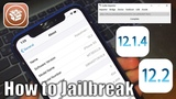 Root Jailbreak - How to JB iOS 12.1.4 - 12.2 and 12.3 beta 3 Work Cydia!