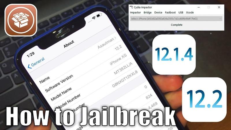 Root Jailbreak - How to JB iOS 12.1.4 - 12.2 and 12.3 beta 3 Work Cydia!