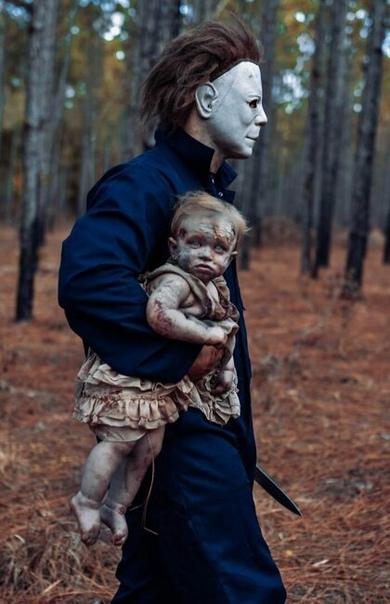 Мать превратила дочь в зомби ради жуткой фотосессии